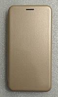 Чохол книжка LEVEL (Kira) Meizu M5 Note Gold