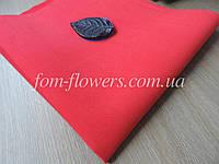 Фоамиран Иранский Красный, экстратонкий 0,6 мм