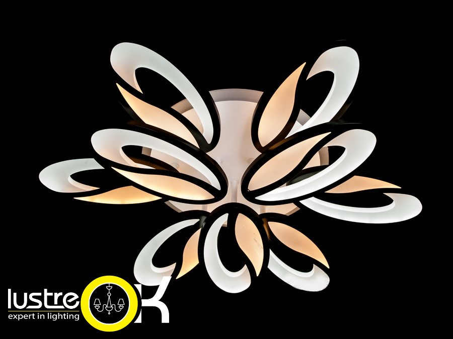 Люстра светодиодная потолочная 8090/6+3 LED dimmer