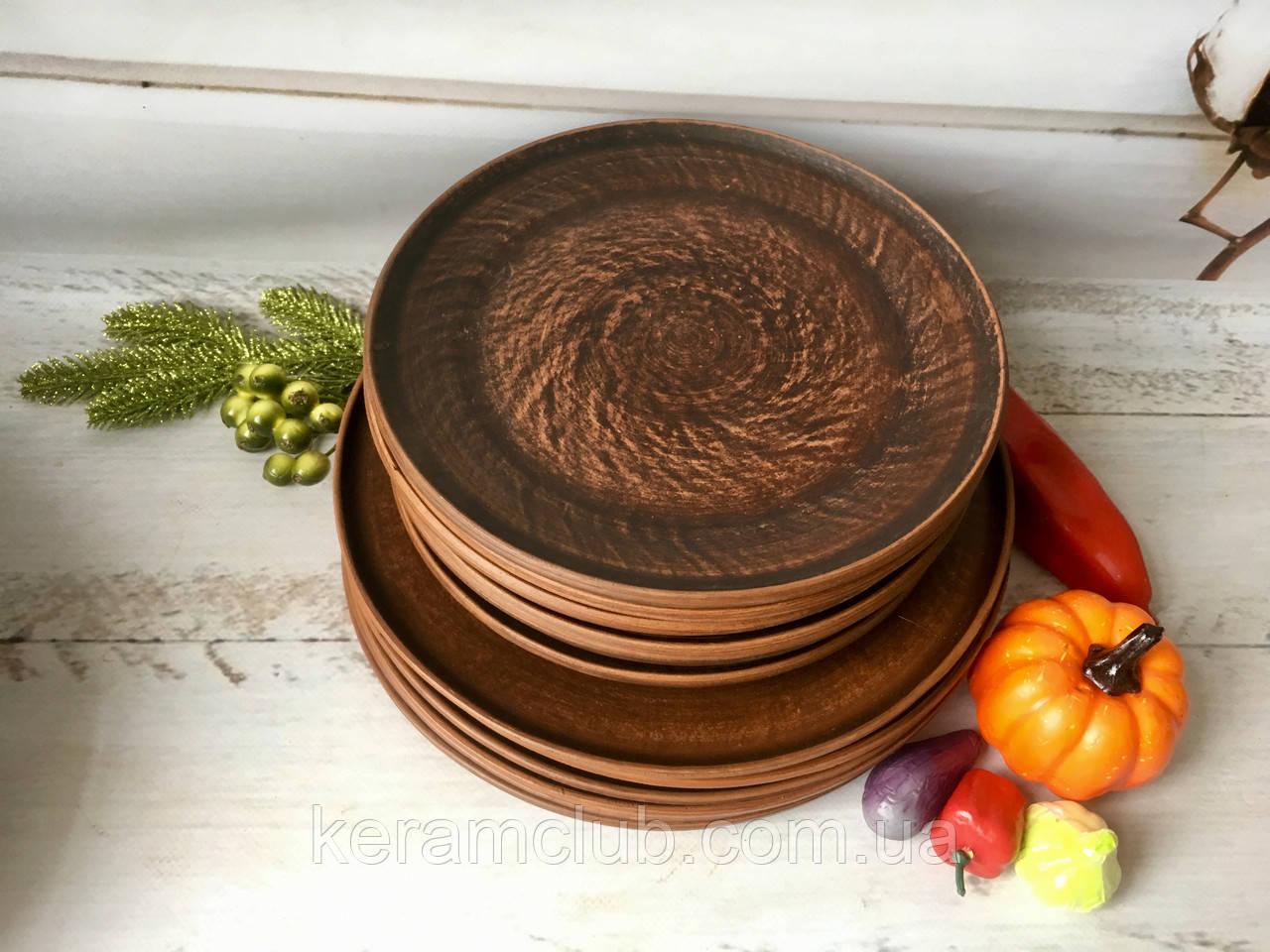 Набор тарелок 6 шт 20 см и 6 шт 25 см