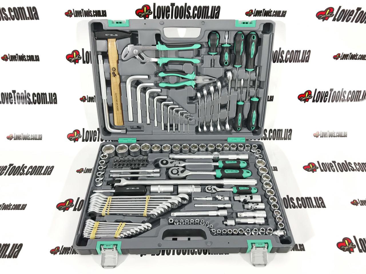 Набор инструментов, 142 предм. STELS 14107