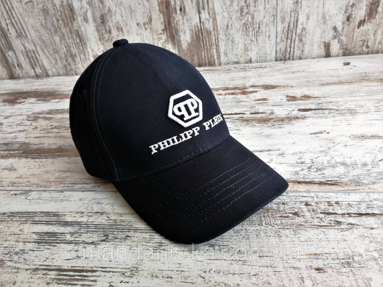 Кепка бейсболка блайзер филипп плейн Philipp Plein Филипп Плейн темно-синий (реплика)