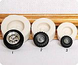 Силиконовый молд колеса, фото 2