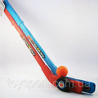 Детский хоккейный набор Ice Hockey 2 клюшки шайба мяч