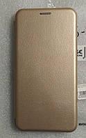 Чохол книжка LEVEL (Kira) для Meizu M6S Gold