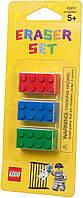 Lego Набор стирательных резинок Brick Erasers 852706