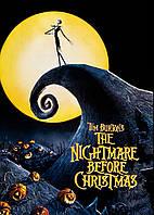 Картина GeekLand The Nightmare before Christmas Кошмар перед Рождеством постер к мультфильму 40х60см NC.09.002