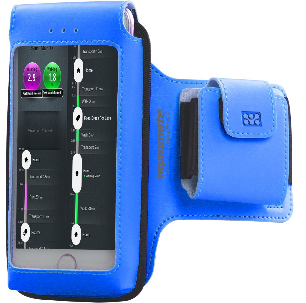 Чехол для iPhone Promate bandPro-i6 Blue