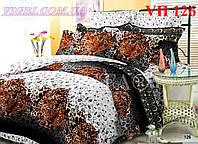 Постельное белье полуторное VILUTA - Поплин VП 126