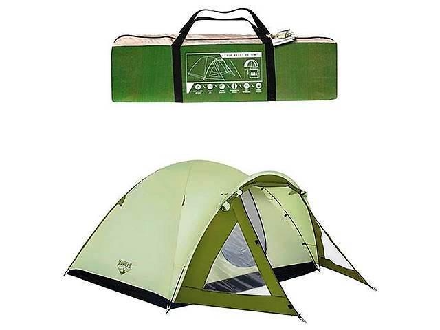 Палатка туристическая четырехместная Bestway Rock Mount 68014