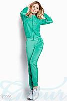 Тренировочный костюм с гипюром S; M; 3XL; 4XL