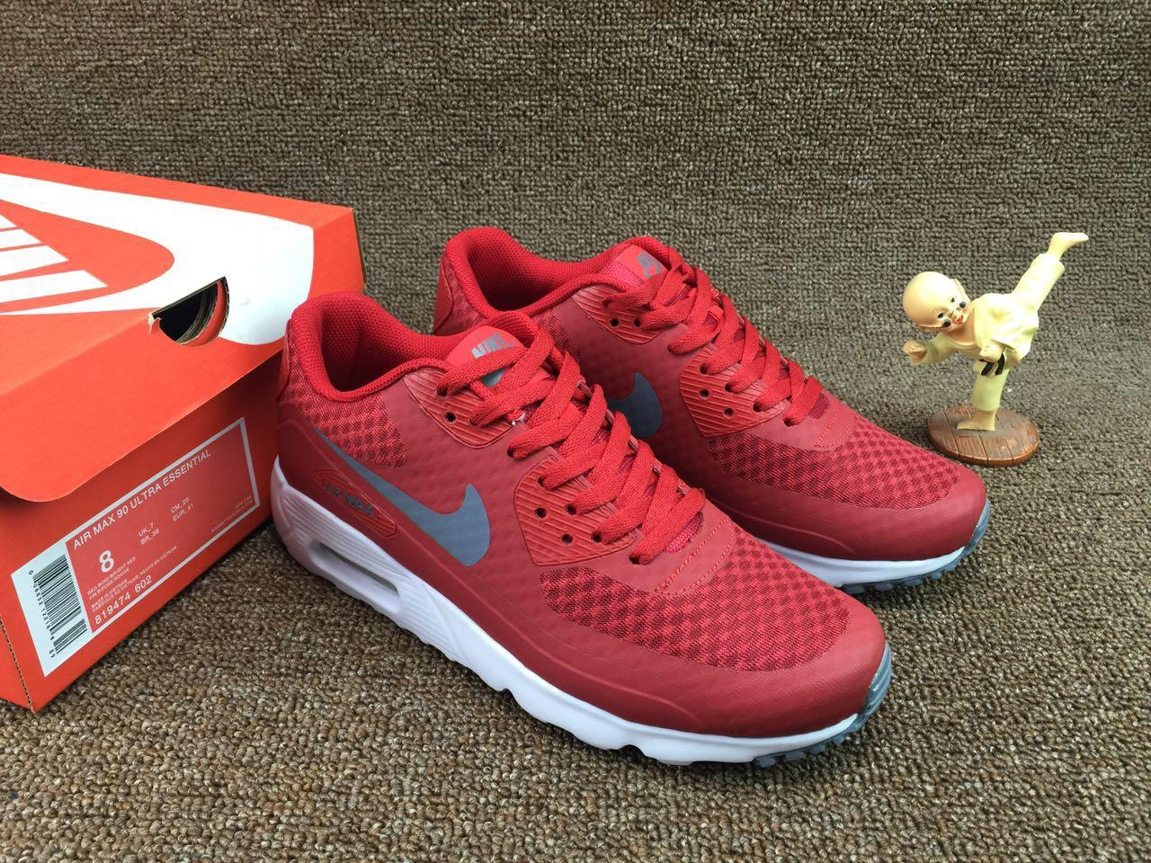 info for new appearance huge discount Кроссовки Nike Air Max 90 ULTRA ESSENTIAL Team Red/Dk Grey/Unv Rd/White -  Bigl.ua