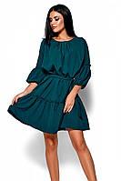 (S, M, L) Повсякденне темно-зелене плаття Polina