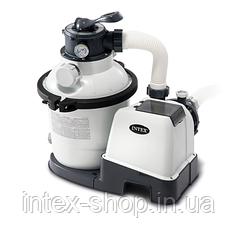 Песочный фильтр насос Intex 26644, 4 500 л\ч