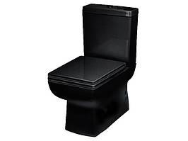 Унитаз-компакт 4822B NEWARC весь комплект черный