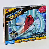 Трубопровідний автотрек «Chariots Speed Pipes» швидкісна машинка на управлінні світлові ефекти в коробці