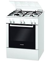 Газовая плита Bosch HGV 425123 L ( 60 см, электрическая духовка, белая )