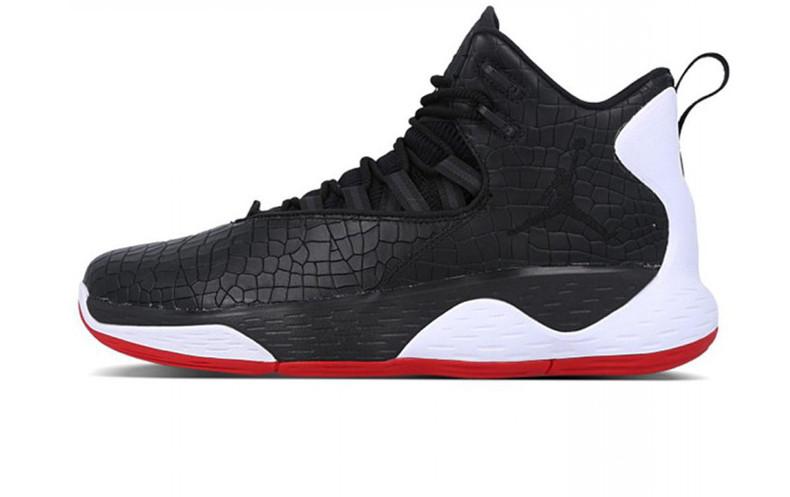 4f0e1e8d Баскетбольные кроссовки Nike Air Jordan Super Fly MVP Alligator Black/White /Red