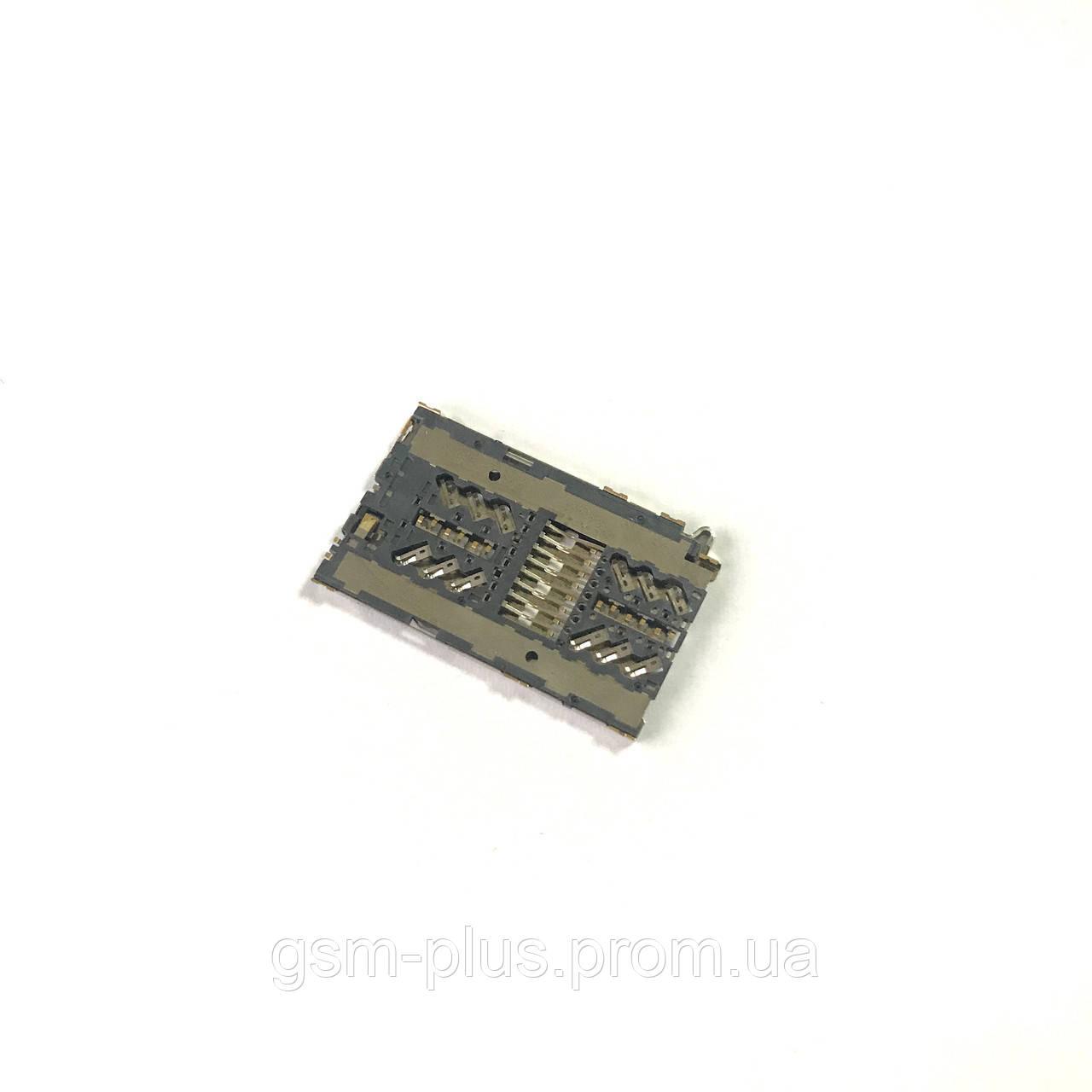 Сим коннектор для Lenovo / A520 / A580 / A690 / A780 / A800 / A890 / P90