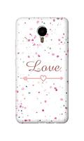 Чехол для телефона влюбленность Meizu Metal 2 силиконовый пластиковый