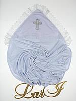 Крестильная крыжма Славяночка, белая, фото 1
