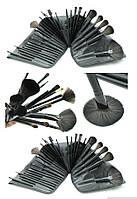 Профессиональный набор кистей для макияжа 32 шт., чехол, фото 1
