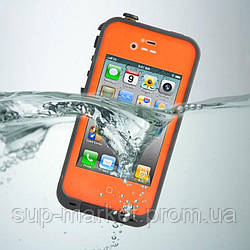 Аквапак Lifeproof fre Waterproof Protective Case For Apple iPhone 4/4S, orange