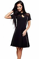 S | Жіноче класичне чорне плаття Ankora