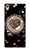 Чехол для телефона огоньки Sony XP XA1 силиконовый пластиковый