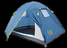 В Наличии! Палатка двухместная GreenCamp 1001B, фото 3
