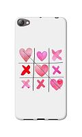 Чехол для телефона крестики сердечки Meizu U10 силиконовый пластиковый