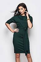 (S, XL) Класичне темно-зелене плаття-міді Sofia