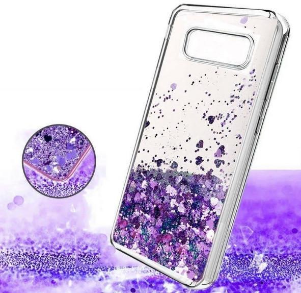Чехол-накладка жидкий блеск, силикон для Iphone 7/8