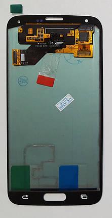 Модуль (сенсор+дисплей) для Samsung G903 Galaxy S5 Neo AMOLED білий, фото 2