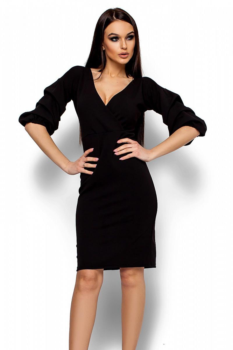 (S, M, L) Вишукане чорне вечірнє плаття Charry