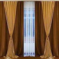 Готовий комплект штор в зал в Україні