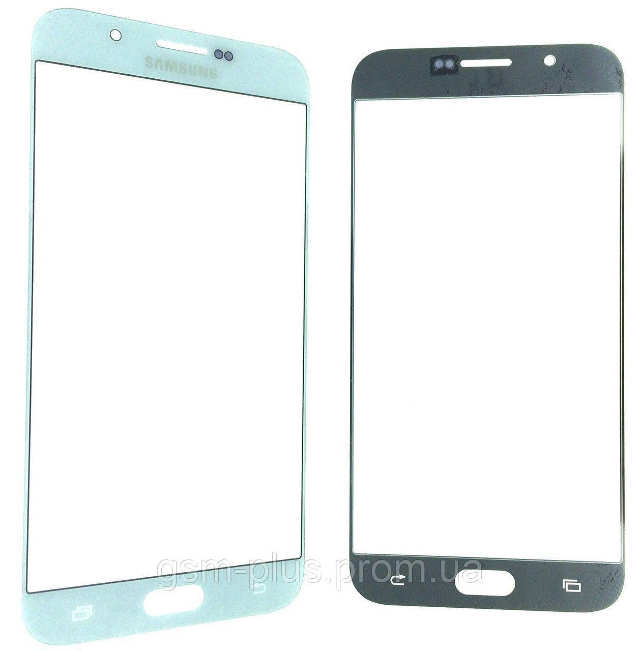 Стекло дисплея Samsung Galaxy A8 SM-A8000 White (для переклейки)