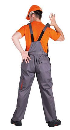Полукомбинезон рабочий Desman мужской лето серый, фото 2