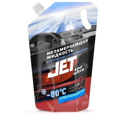 JET 100 ULTRA Жидкость для омывания стекол -80°С (суперконцентрат) (пакет 1 л)