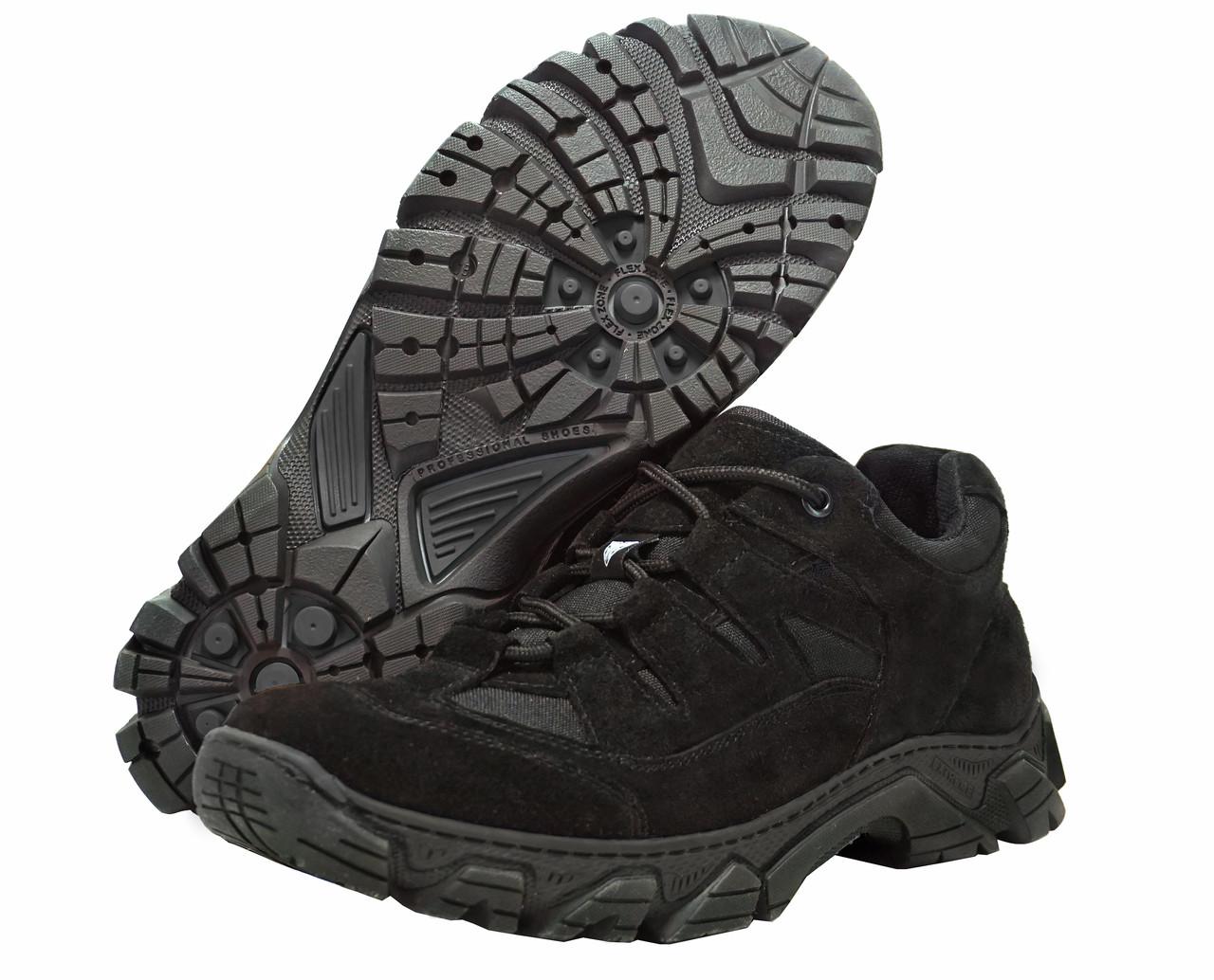 Тактичні кросівки чорні PROTEKTOR