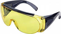 Очки Стрелковые Allen Fit Over Shooting Glasses. Линзы - поликарбонат (Желтые). (2170)