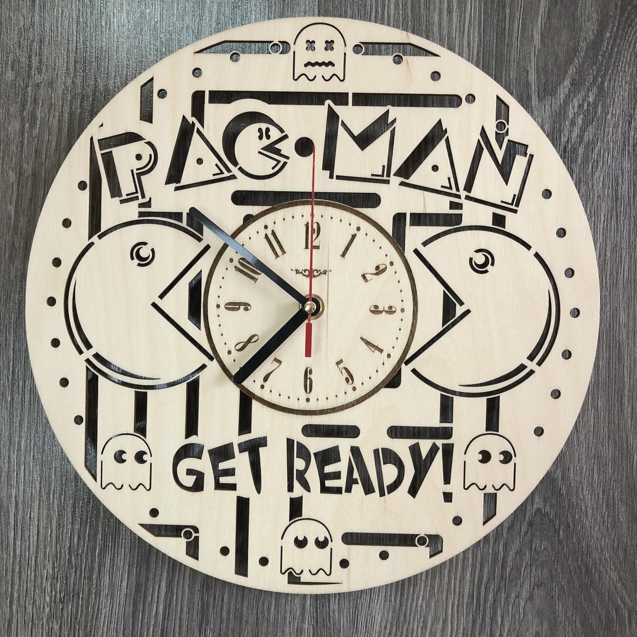 Оригинальные концептуальные настенные часы «Pac Man»