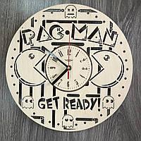 Оригинальные концептуальные настенные часы «Pac Man», фото 1