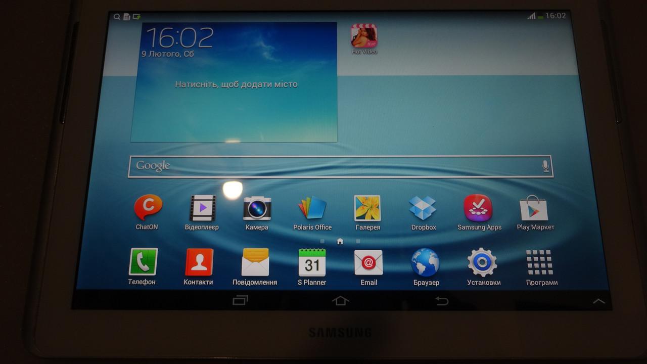 "Планшет Samsung Galaxy tab 2 10"" 16Gb WiFi 3G MicroSD с большим экраном"