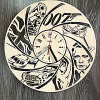 Тематические настенные часы в интерьер «Джеймс Бонд», фото 1