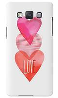 Чехол для телефона c любовью Samsung A5 2015 A500H силиконовый пластиковый