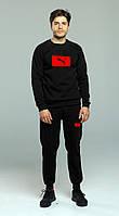 Мужской спортивный костюм Puma, красный логотип