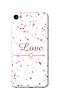Чехол для телефона влюбленность Meizu U20 силиконовый пластиковый