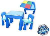 Комплект детской мебели Tega Baby Mamut стол + 2 стула (Польша), синий