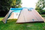 Палатка туристическая пятиместная Bestway 68015 Hogan (200+305) х 305х200 см, фото 2